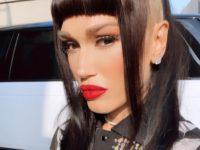 Блондинка vs брюнетка: контрастное окрашивание волос Гвен Стефани