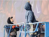 Что получится, если скрестить Третьяковку и граффити? Мурал Саши Купаляна
