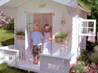 Дети на даче: как оформить детскую площадку