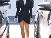 Девушка Бонда: Меган Фокс в очень коротком и очень красивом платье Mugler