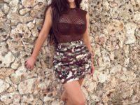 Ким Кардашьян возвращает в моду камуфляжный принт