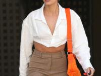 Когда одна деталь решает все: наглядный пример Хейли Бибер, как одеваться в офис стильно и не скучно