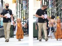 Папина дочка: Лея Купер растет не по дням, а по часам и все больше похожа на звездного отца