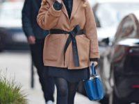 Принцесса Беатрис в коротком карамельном пальто для девушек размера plus size