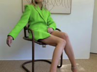 То ли жакет, то ли платье? Эльза Хоск повторила выход Ирины Шейк (подсказываем, где купить такой же)