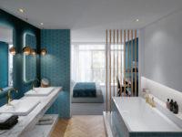 Ванная комната для всей семьи: эргономичные решения