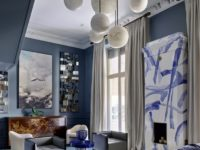 Двухэтажная квартира «на Патриках»: проект Аллы Шумейко