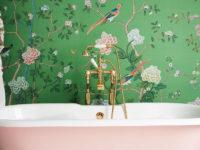 Обои в ванной комнате: 35 вдохновляющих примеров