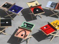 Дизайнерские столы для пинг-понга: как вам такое решение?