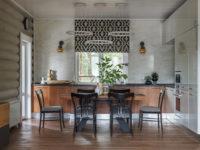 Дом в лесу: деревянная дача в Подмосковье