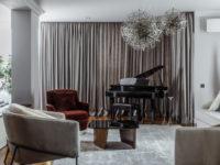 Квартира с музыкальной гостиной в Ростове-на-Дону