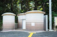 Общественный туалет по проекту Тойо Ито в Японии