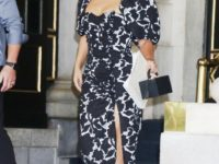 Платье, которое делает талию осиной. Показывает Леди Гага