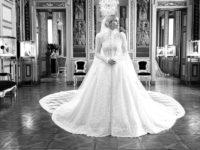 Продолжение сказки: Китти Спенсер поделилась фото с примерки ее королевского свадебного платья