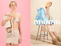 Сила в красоте: Эмма Коррин в рекламной кампании Miu Miu