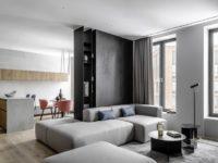Светлая минималистская квартира в Москве