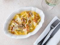 Ужин по-итальянски: готовим фетучини с лисичками