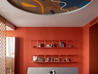 Яркая квартира 70 м² для молодой пары в Москве