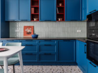 Яркие кухни: 30+ оригинальных проектов