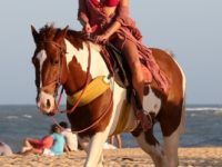 Алессандра Амбросио знает все об эффектном появлении на пляже