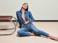 Ирина Шейк в кампании DL1961 подсказывает, какие джинсы мы будем носить будущей осенью