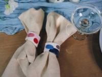 Крупным планом: керамические кольца для салфеток, которые питерская художница Саша Гунга создала для Jo Malone
