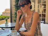Маленькое платье кроше— лучшая покупка лета: доказывает француженка Жюли Феррери