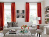 Нотки цитруса: 30 интерьеров с яркими оранжевыми акцентами
