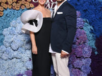 Самое красивое платье благотворительного ужина на Капри. Кэти Перри в парижском винтаже
