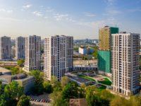 Завершено строительство четырех домов в составе ЖК LIFE-Варшавская