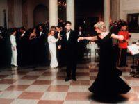 История одного платья: the Travolta dress, в котором принцесса Диана танцевала с Джоном Траволтой